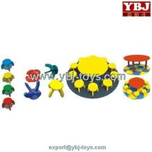 Hottest!China manufacture supply plastic childrens table and chairs