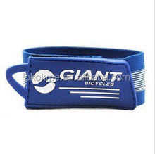 custom reusable durable reflective velcro ski band with custom logo for ski climb moutains