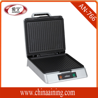 Electric Contact Grill Type and Stainless Steel + Plastic Material Barbecue Grill
