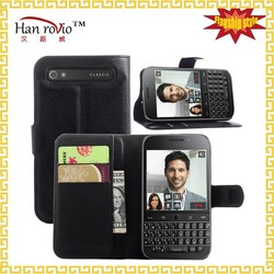 phone case for BlackBerry Classic Q20 9 color flip leather cell phone cover