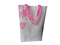 Foldable promotion wholesale recycled custom recycling non woven carry bag