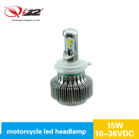 Hot selling! motorcycle parts 15w led motorcycle headlight, motocycle led headlight, led headlight