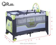 European Baby Playpen, Portable Travel Cot With EN Certificate, new baby bed