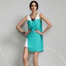 2015 nuevo diseño ropa vestido de calidad superior mujer moda vestido