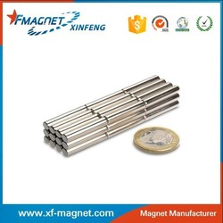 High Quanlity Cylinder NdFeB Magnets Manufacture (Nickel, Znic, Sliver,Gold And So On)