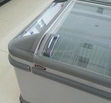 seafood refrigerator icecream island deep case/chest freezer cooler
