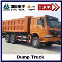 6*4 howo dump truck,10 wheels truck tipper