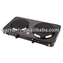 electric hot plate with cast iron burner
