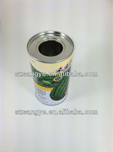 Customed Round Tin Cans With Window