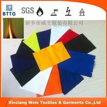 low formaldehyde eco-friendly 6OZ EN531 flame retardant workwear cotton fabric for European markets
