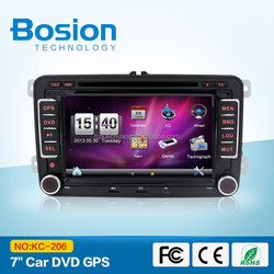 SKODA OCTAVIA II car DVD 2 din 7 inch touch screen with GPS,Ipod,Bluetooth,PIP,SWC