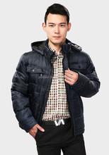Clothing manufacturers overseas with men winter overcoat