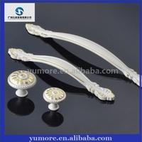 Home decorative furniture ceramic cabinet bar pull handle manufacturers