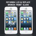 Renovar Lcd y reemplazar Broken Glass Frente para Iphone para Samsung