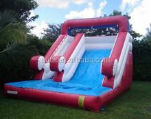 wholesale big red water slide/inflatable slide