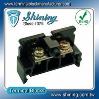 TE-020 Any Pole Combined Type 600V 20 Amp G Rail Terminal Block