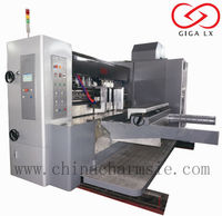 GIGA LX corrugated carton printer slotter machine