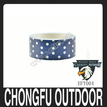 2015blue with white dots PVC duct tape bright and colorful
