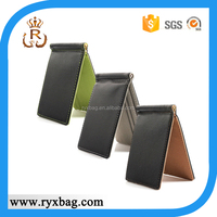 New style man's ultra thin PU leather wallets