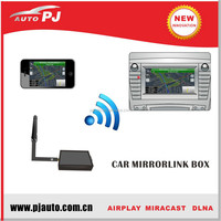 Mirror Link Wifi Box for Screen Sharing of Smart Phones with Car DVD Players & Car LCD Monitors (AIRPLAY, MIRACAST, DLNA)