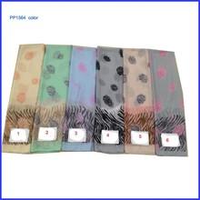 Fashionable single retro flower print scarf shawl