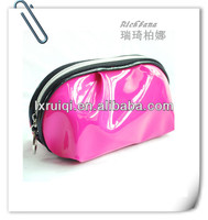 clear pvc cosmetic bags made of leather factory direct