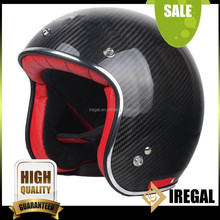 Custom Half Face Carbon Fiber Chinese Motorcycle Helmet