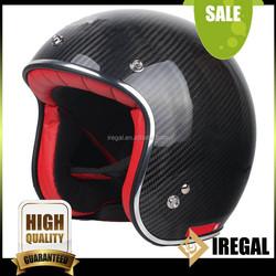 Custom Half Face Carbon Fiber Chinese Motorcycle Helmet