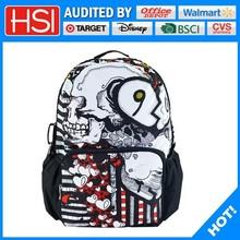original Person cranial head printing export school bag