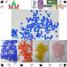 Blue to Pink Silica Gel Desiccant