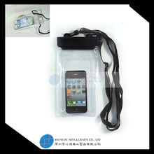 2015 hot selling Waterproof Bag & Earphone for Smart Phone Cellphone
