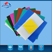 Factory directly sale hdpe sheet black with large stock and quick delivery