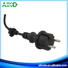 China supplier top quality hot sale EU 2 pin plug