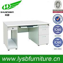 Mobile metal 3 drawer office desk/computer desk
