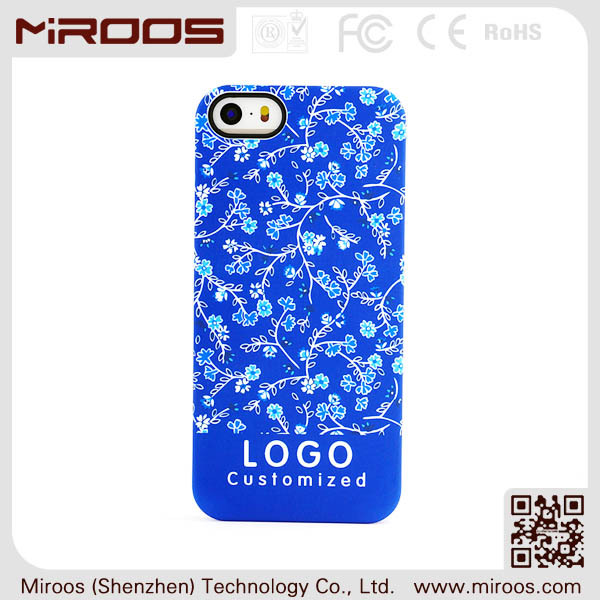 2014 Miroos mobile accessory professional design for oem iphone 6 case pc water transfer printed from China supplier
