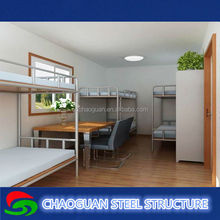 Cheap Flexible welded Steel Structure Residential Container House