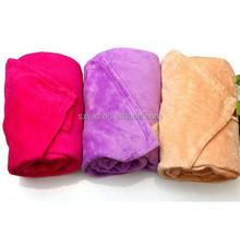 king travel cozy coral fleece blanket solid color