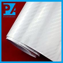 Hot sale gloss white carbon fiber vinyl roll