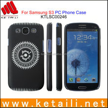 For Samsung Galaxy S3 Printed PC Mobile Phone Case Made in China