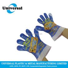 Hot sale household polyethylene gloves