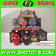 wholesale plastic spiderman figure peg top