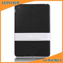 LETSVIEW Classic Durable Shock Proof Protective Soft TPU Crystal Skin Back Cover Luxury Tablet PC Cased Bags Shell for Ipad Mini