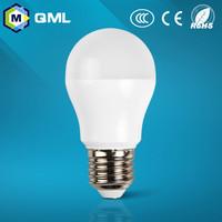 white led bulbs 5w 7w 9w model 180 bean angle plastic plus aluminum