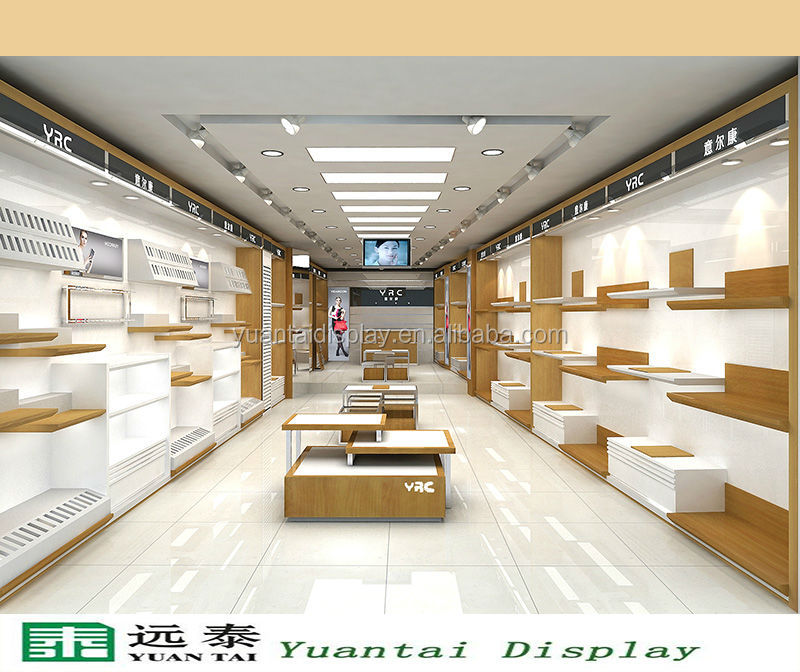 Wood Retail Store Display Shelf Showcase Bag Shoe Store Interior Design Buy Shoe Store