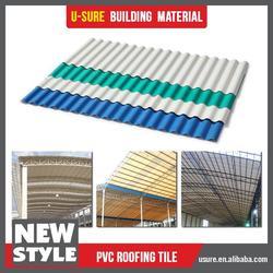 Wind resistance pvc sandwich panel roof sheet