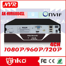 Hotselling h.264 network NVR 4 channel h.264 network security cctv DVR 4ch ip camera NVR
