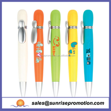 2015 colorful plastic ballpoint lovely pen