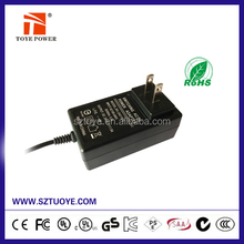 36w 12v 15v 16v 18v 19v wall plug power adapter /charger with CE/UL/CUL/FCC/PSE/GS/SAA certificates