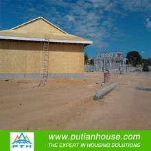 China Luxury Prefabricated Wooden Houses with Light Steel Structure for Sale