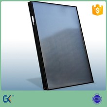 Aluminum full plate 80mm thick black selective coating laser welding 5 years guarantee flat plate solar heat collector